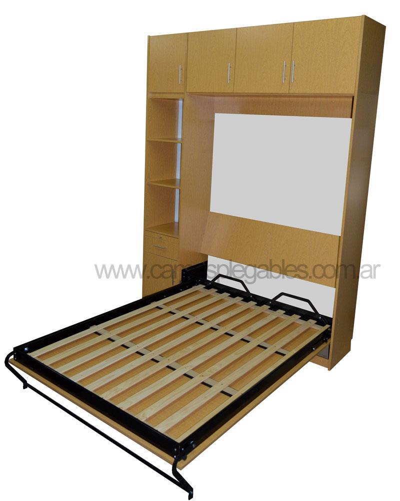 Modelos de camas rebatibles for Camas plegables con mueble