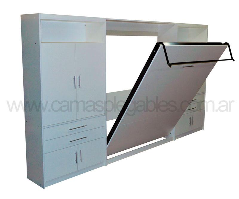 Fotos de camas rebatibles for Cama 1 plaza medidas