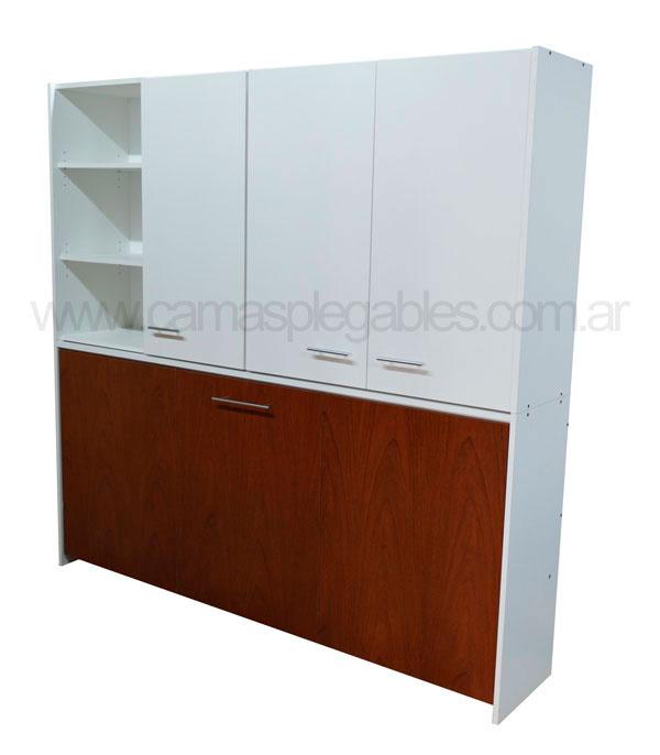 Camas plegables rebatibles for Camas plegables con mueble