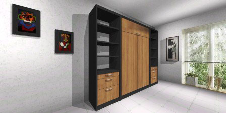Modelos de camas rebatibles for Mueble cama plegable