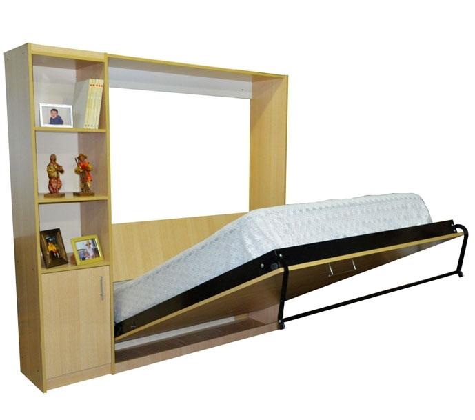 mueble cama rebatible con modulo biblioteca mueble placard con cama