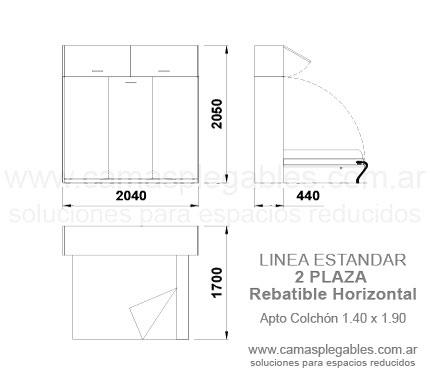Cama King Size Medidas. Gallery Of De Esta Manera La Pieza Four Pasa ...